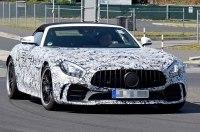 Шпионские фотографии «заряженного» Mercedes-AMG GT R Roadster