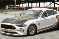 Ford превратил Mustang в рекордный дрэгстер