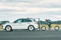 Турбо-Кайен помог установить новый рекорд скорости на велосипеде