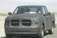Шпионы засекли «стройный» Dodge Ram