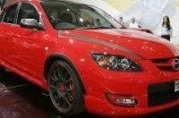 """Mazda представила """"заряженную"""" Mazda3 MPS Extreme"""