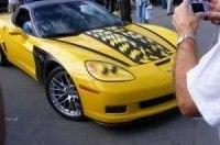 Новый Corvette ZR-1 предстал перед зрителями на Laguna Seca