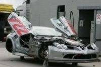 Шпионы увидели Mercedes-Benz McLaren SLR 722 GT