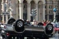Каждый третий киевский водитель признался, что регулярно нарушает ПДД