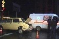 Вчера в Киеве произошло свыше 300 аварий
