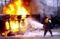 Водитель бензовоза закурил и взорвался