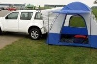 Компания Nissan создала палатку для владельцев внедорожников