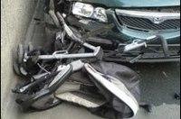 В Киеве 14-летний школьник на машине сбил малыша