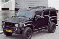 Hummer выпустил для Европы H3 в черной редакции