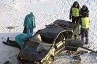 Водитель погиб столкнувшись с баржей