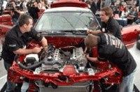 Энтузиасты сделали тюнинг Ford Mustang GT за 6 часов