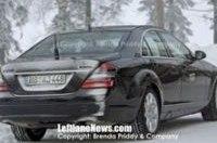 Mercedes испытывает гибридный S-класс