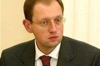 Яценюк отказался от услуг эскорта ГАИ