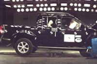 Nissan Navara не получил ни одной звезды в тестах EuroNCAP