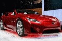 В Женеве состоялся европейский дебют родстера Lexus LF-A