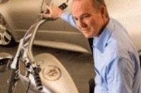 Гибридный мотоцикл Cadillac создан, как музейный экспонат