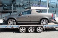 Шпионы увидели пикап на базе Volvo XC70