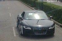 Шпионские фото новой Audi R8 с двигателем V10!