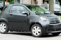 В сеть попали шпионские снимки тестового Toyota iQ