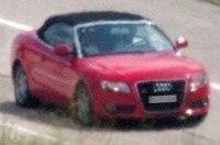 Первые шпионские фото Audi A5 Cabrio!