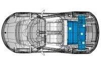 Зярядка батареи Tesla Roadster от розетки в США может занять 32 часа
