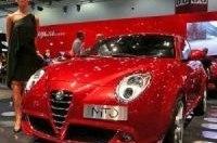 Alfa Romeo MiTo на British Motor Show. Видео