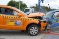 Краш-тест ADAC: Audi Q7 против маленького Fiat 500. Видео