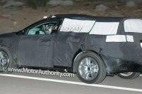 Шпионские фото нового автомобиля от Acura!