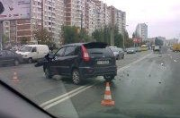 ДТП на Маяковского:  грузовик перевернулся, как коробка