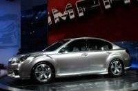 Subaru представил будущее модели Legacy