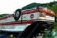 На Украине перевернулся автобус, пострадали 40 беларусов