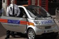 В Лондоне полиция получила электромобили Smart