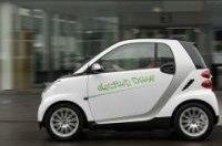 Электромобили Smart появятся на дорогах в ноябре 2009 года