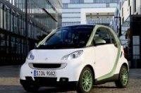 Электромобили smart fortwo появятся в 2012 году
