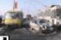 Крупное ДТП недалеко от Московского моста: столкнулось 6 автомобилей. ФОТО.