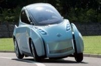 Nissan представит 2-местный электромобиль Land Glider