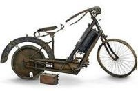 Ржавый 115-летний мотоцикл продадут на аукционе