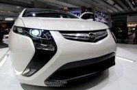 Opel Ampera приехал на конференцию ЕС