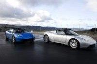 Дебют Tesla Roadster состоялся в Шотландии