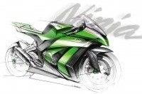 Kawasaki выпустила тизер Ninja ZX10R 2011
