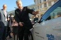 На Олимпиаде в Сочи будут работать электромобили Volkswagen