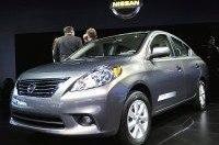 Nissan предложил американцам на автосалоне в Нью-Йорке седан Nissan Versa
