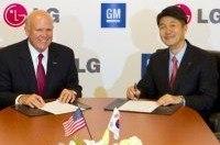 GM совместно с LG займется разработкой электромобилей