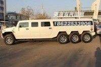 В Китае объявился восьмиколесный Hummer H2