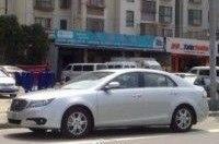 FAW Besturn B90 замечен в Китае без камуфляжа