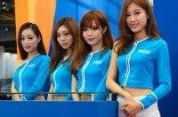 Девушки Шанхайского Автосалона 2013