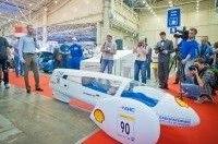 Первый украинский эко-автомобиль провел на SIA 2013 экспериментальный заезд