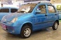 На SIA'2013 засветился загадочный китайский электромобиль