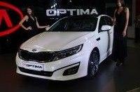 На «Столичном автошоу» презентовали новые Kia Optima и Kia Carens