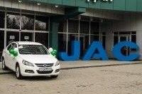 В Украине стартовало производство JAC J5
